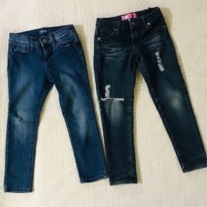 Bundle of 2 girls jeans size 6